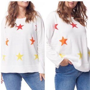 NWT Lisa Todd Star Struck Crewneck Sweater